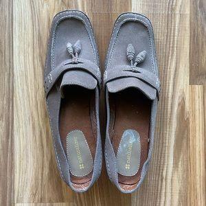 Naturalizer Tasslel Suede Loafers